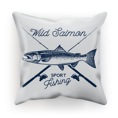 Wild Salmon Sublimation Cushion Cover