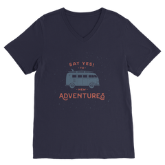 New Adventures Classic V-Neck T-Shirt