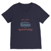 Image of New Adventures Classic V-Neck T-Shirt