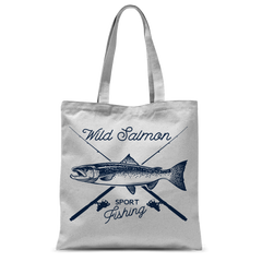 Wild Salmon Classic Sublimation Tote Bag