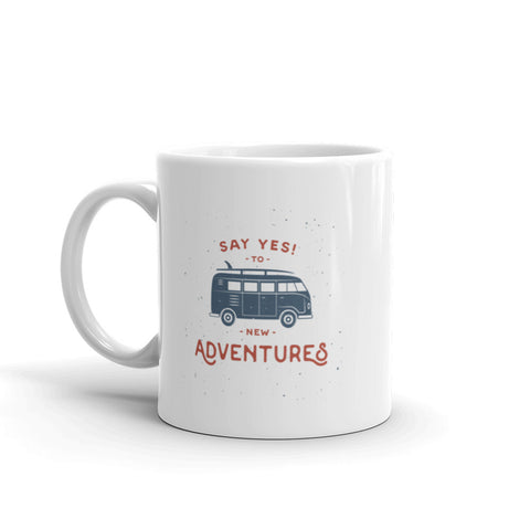 New Adventures - Mug (Right Handed)