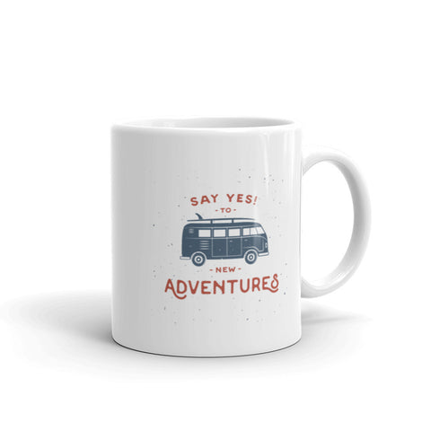 New Adventures - Mug (Left Handed)