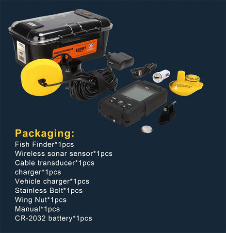 Portable Waterproof Fish Finder
