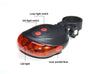 Image of Bicycle Rear Light (LED&Laser)