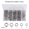 Image of 200PCS Stainless Steel Fishing Split Rings