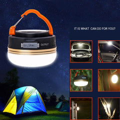 Portable 1800mAh Camping LED