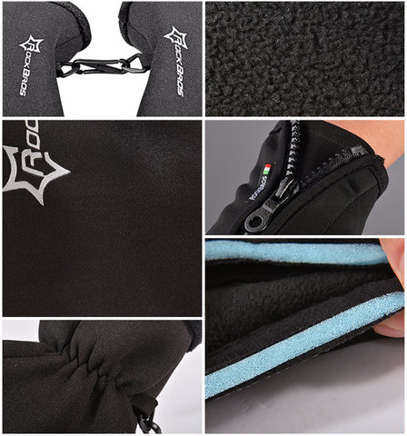 Thermal & Windproof Bike Gloves