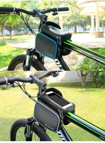 Bicycle Front Head Top Tube Waterproof Bike Bag