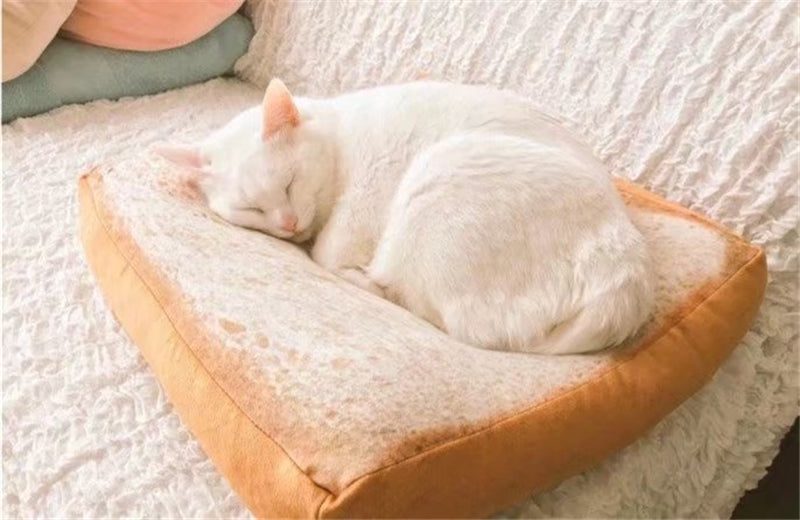 Creative Toast bread Pet Lounger Bed