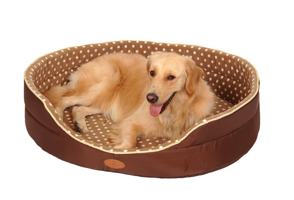 Double sided Soft Fleece Pet Bed