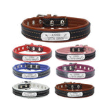Personalized Engraved Dog Leather Collar, , DogGiftShop, DogGiftShop