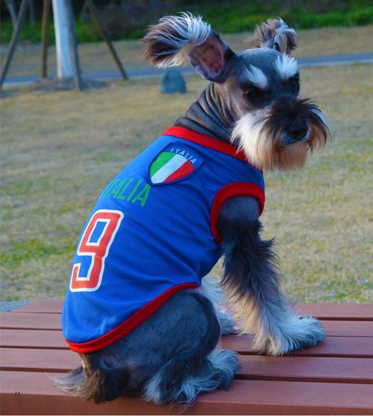 Soccer T-shirts For Your Pet, Dress Them With Your Favorite Team T-Shirt!, , DogGiftShop, DogGiftShop