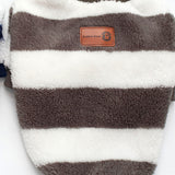 Cashmere Striped Suede outfit, , DogGiftShop, DogGiftShop