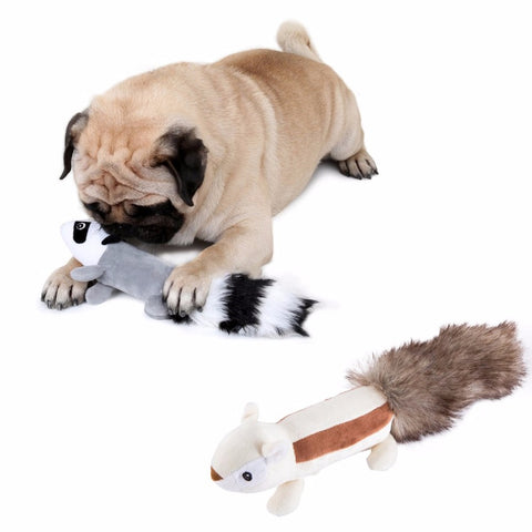 Skunk/Squirrel Interactive Stuffed Toy, , DogGiftShop, DogGiftShop