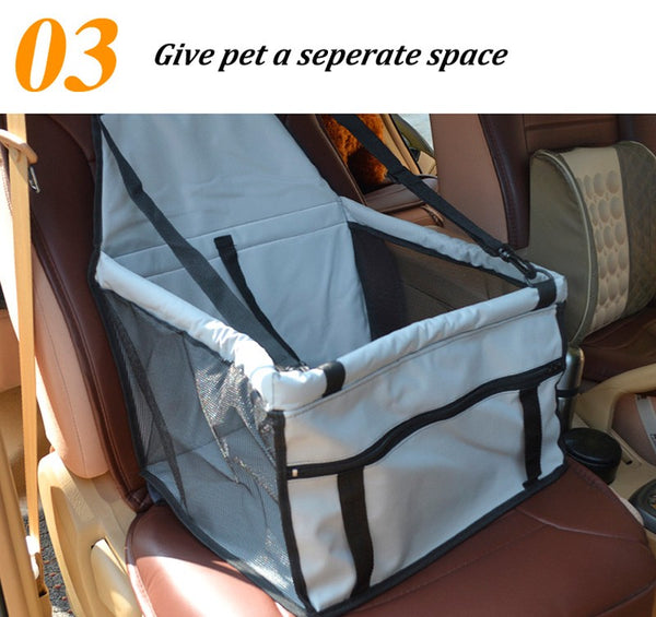 Dog Car Seat Bag Carriers Small Animal Pet Dog Mat Blanket Cover Mat Protector Breathable Waterproof U0749, doggiftshop.com