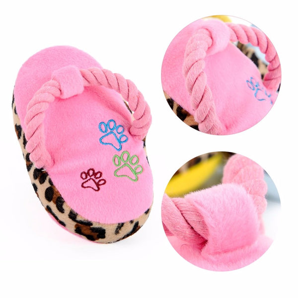 ״Slipper״ Design Soft Chewing Toy, , DogGiftShop, DogGiftShop