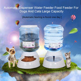 Automatic Food/Water  Dispenser + Bowl, , DogGiftShop, DogGiftShop