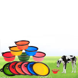 Foldable Silicone Bowl For Food & Water, Suitable For Outdoor Travels, , DogGiftShop, DogGiftShop