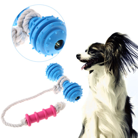 Chew Hammer Toy With Cotton Rope Fun & Dental, , DogGiftShop, DogGiftShop