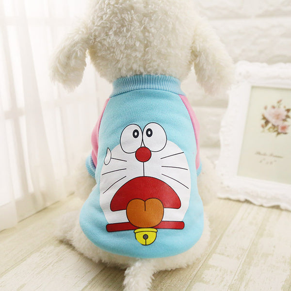 Cool Cartoon Fleece T-Shirts, , DogGiftShop, DogGiftShop