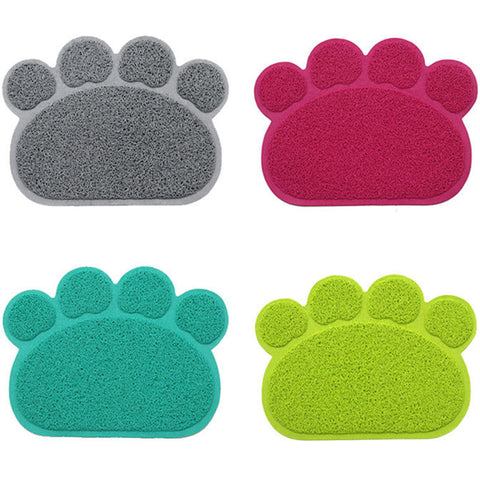 Feeding Anti-Slip Paw Design Placemat, , DogGiftShop, DogGiftShop
