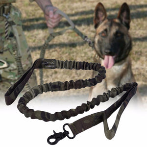 2017 Nylon Army Tactical Dog Leash Waterproof Dog Collars Military Dog Leads Belt Training Leash Adjustable Dog Leash
