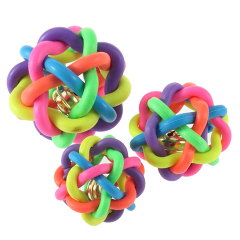 Colorful Rubber Ball, , DogGiftShop, DogGiftShop
