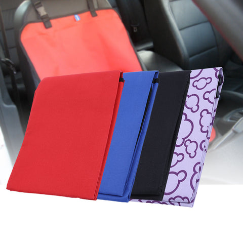 Oxford Fabric Pet Dog Car Back Seat Cover Mats Thickening Waterproof Dog Blanket Cover Mat Pet Products Dog Accessories