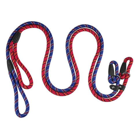 2 Color Soft Nylon Pet Dog Training Leash Durable Leashes Chew Resistant Ergonomic Anti Slip Grip Traction Rope