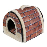 4 Patterns Portable House/Tent with Mat foe S/M pets, , DogGiftShop, DogGiftShop