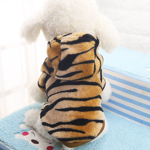 """Tiger"" Soft & Warm Fleece Hoodie, , DogGiftShop, DogGiftShop"