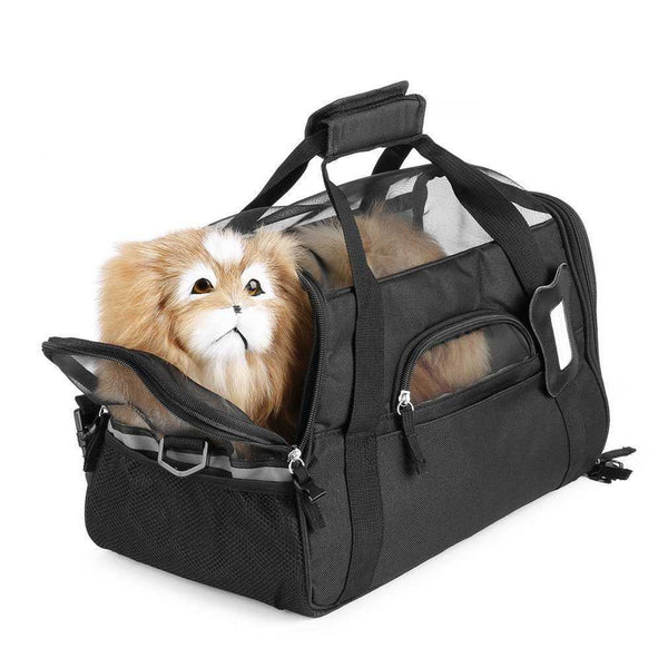 2017 Pet Carrier 600D Nylon Waterproof Dog Cat Puppy Kitten Bag Outdoor Travel Carrying Bags Comfortable Soft Bed For Small Pet, doggiftshop bags, dog bags, dog carriers, cheap dog carrriers