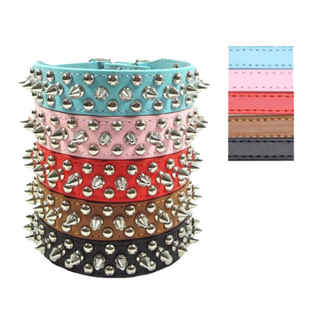 Punk Spiked Collars, , DogGiftShop, DogGiftShop