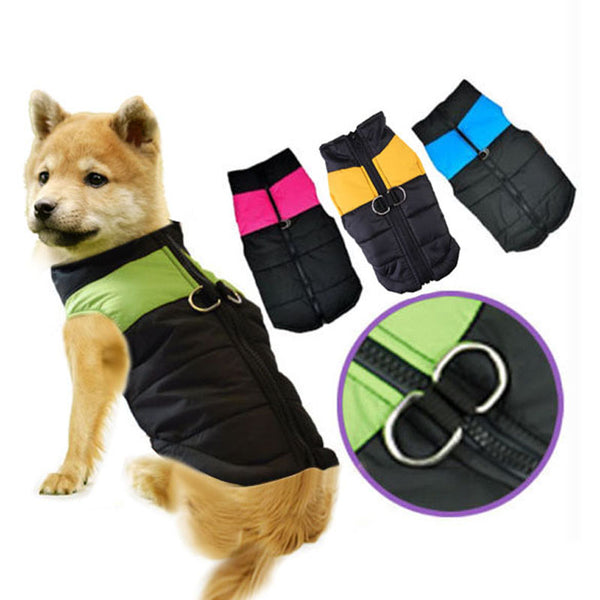 Best Sale Winter Pet Dog Clothes Warm Down Jacket Waterproof Coat XS-XXL Vest Clothes for Small Medium Large Dogs Pet Supplies