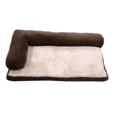 Removable Corduroy Dog Bed Winter Warm Soft Dog House Beds For Small Medium Dogs Puppy Cat House Pet Products