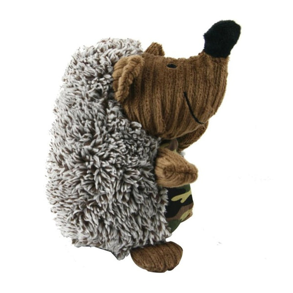 Cute Squeak Sound Toy For Dog Soft Plush PP Cotton Interactive Toys Funny Hedgehog-shaped Toys for Play Training