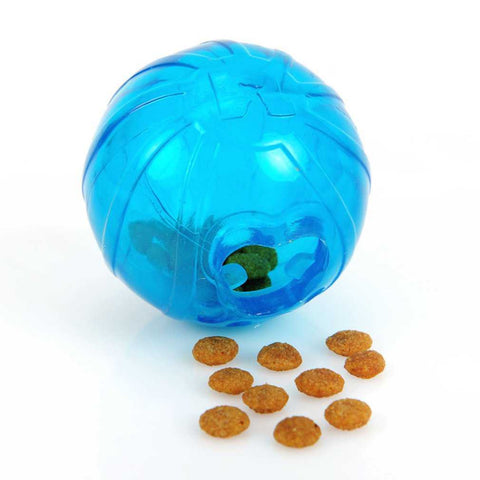 Treat Ball Pure Rubber Resistant Teeth Bite Leakage Food Ball Exercising Pet Supplies Drop Shipping