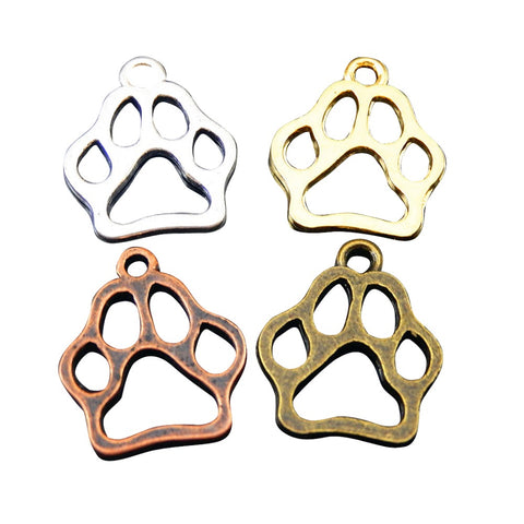 Footprint Charms 12pcs Pack, , DogGiftShop, DogGiftShop