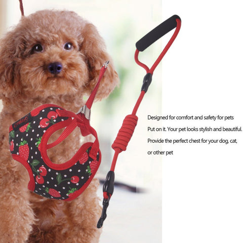 Adjustable High Quality Chest Harness & Leash, , DogGiftShop, DogGiftShop