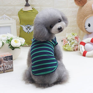 Fashionable Cotton Vest For Small Dogs, , DogGiftShop, DogGiftShop