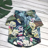 """Hawaii""  Breathable Floral T-shirt, dog clothes, DogGiftShop, DogGiftShop"