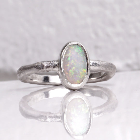 RINA  |  opal  |  sterling silver