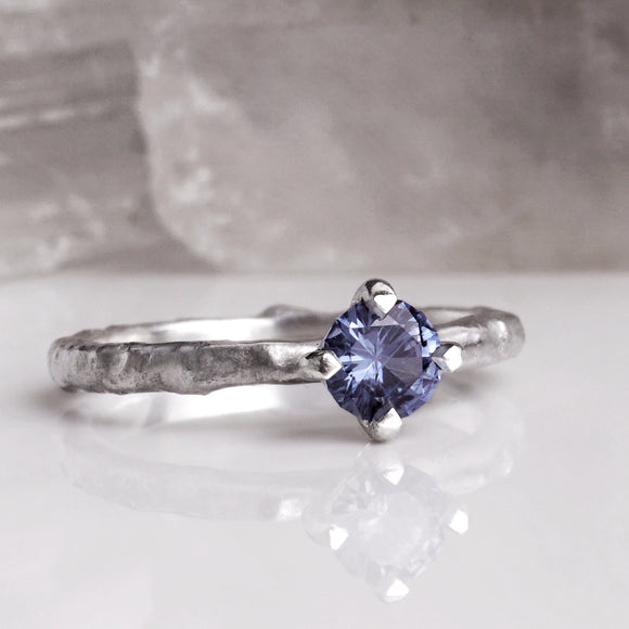 RINA  |  sapphire |  sterling silver