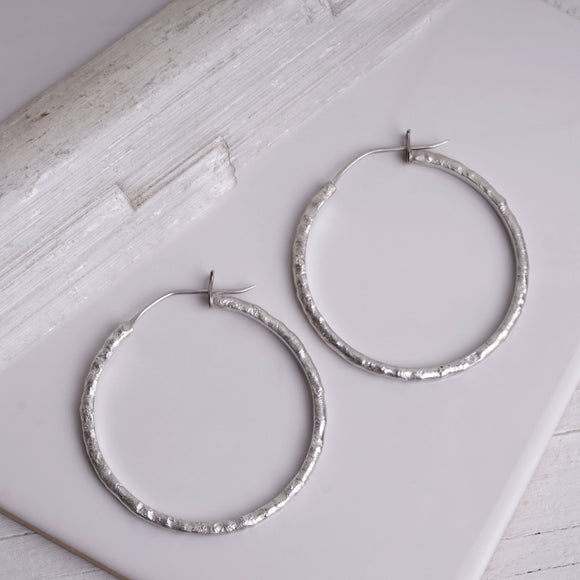 LYRA  |  hoops  | sterling silver