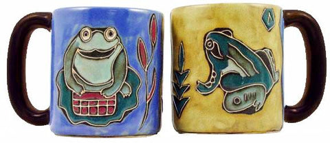 16 oz. Mara Mug – Frogs
