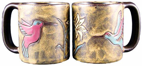 16 oz. Mara Mug – Hummingbirds