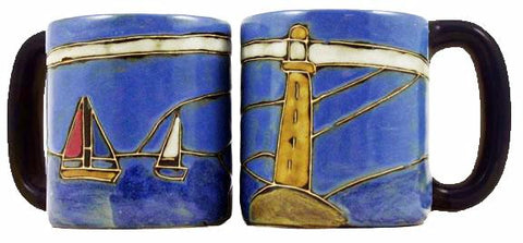 16 oz. Mara Mug – Lighthouse