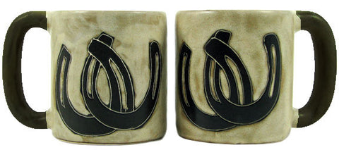 16 oz. Mara Mug – Horse Shoes