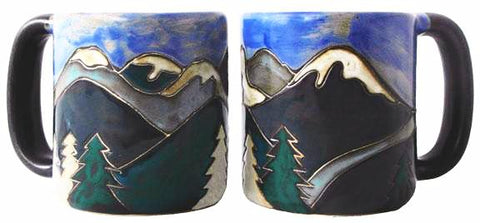 16 oz. Mara Mug – Snowy Mountains