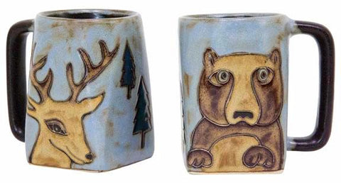 12 oz. Mara Mug – Bear/Deer